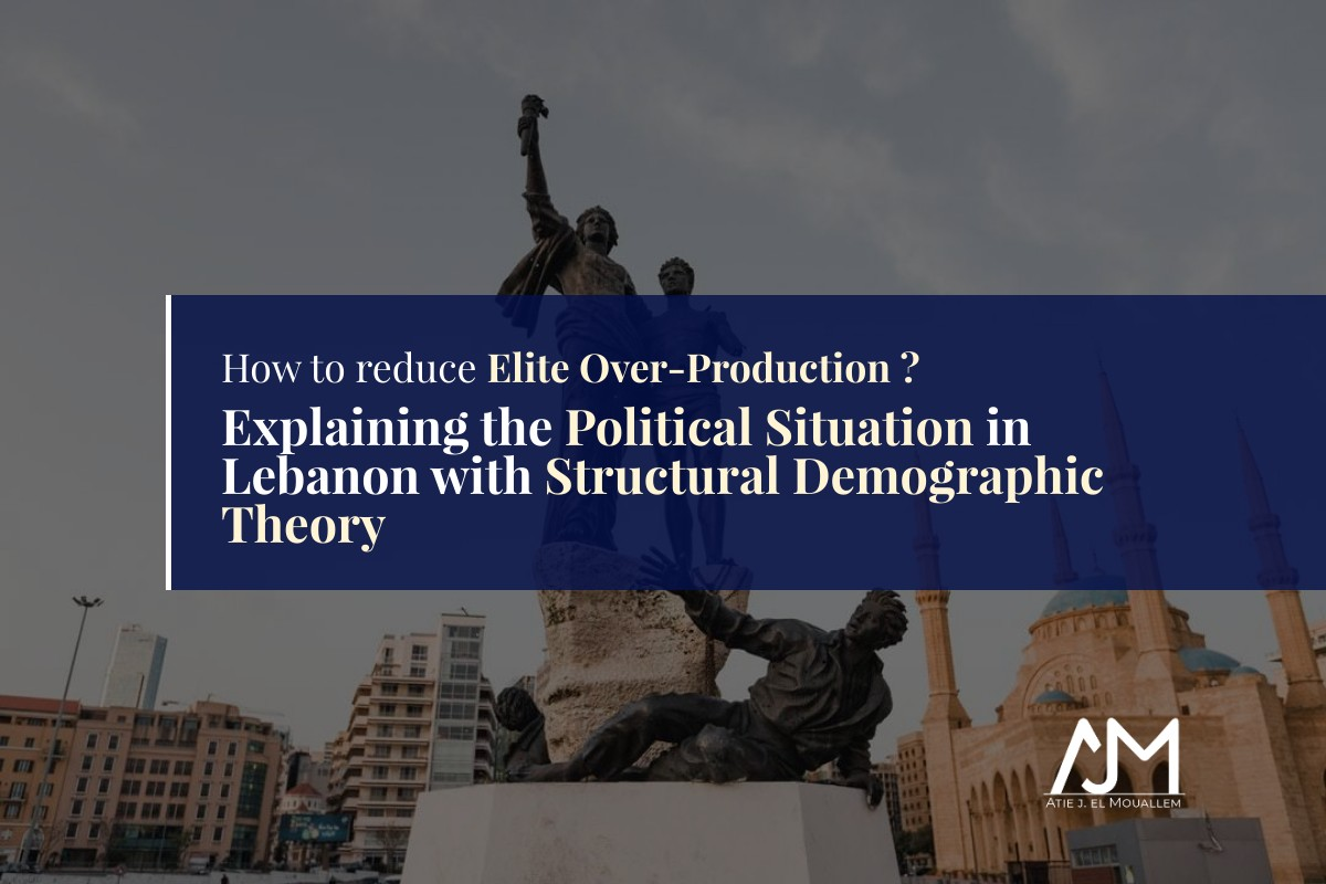Explaining the Political Situation in Lebanon with Structural Demographic Theory